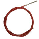 red brake cable