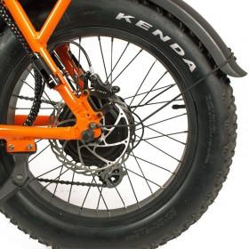 Speedbike ONEMILE Scrambler S Orange roue arrière