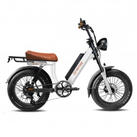 Speedbike ONEMILE Scrambler V White with Mounting