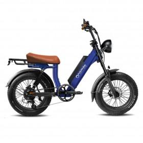 Speedbike ONEMILE Scrambler V Blue with Mounting