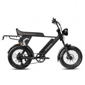 Speedbike ONEMILE Scrambler S Noir avec Montage