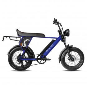 Speedbike ONEMILE Scrambler S Blue with Mounting