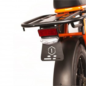 Speedbike ONEMILE Scrambler S Orange with Mounting