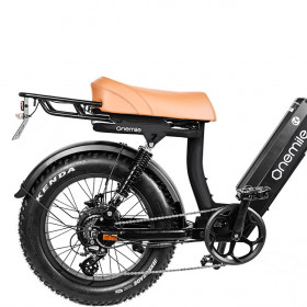 Speedbike ONEMILE Scrambler V Black with Mounting