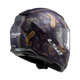 Casque LS2 STREAM EVO FF320 - Matt violet - S