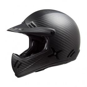 Casque LS2 XTRA MX471 - Matt carbon -XL