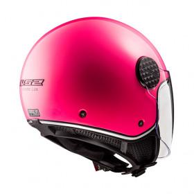 Casque LS2 SPHERE LUX OF558 - Fluo pink - S