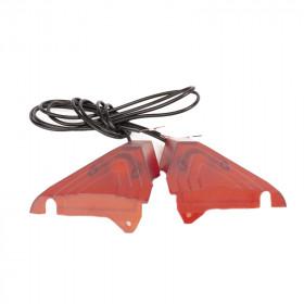 Paire de cache rouge arrière pour deck Z8X avec LED