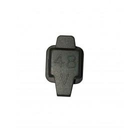 Cache plug en silicone pour port de charge S+ Premium - 48V