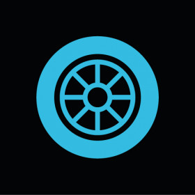 Wheels, tires and engine